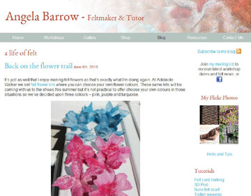 Angela Barrow website