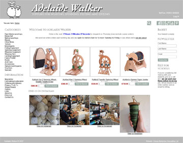 Adelaide Walker website