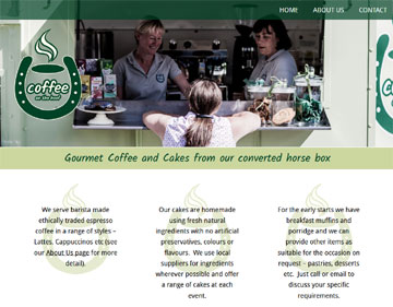 Coffee On The Hoof website