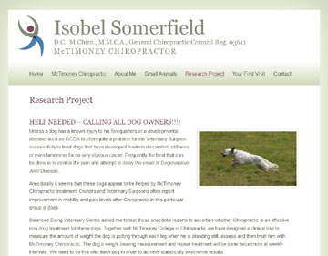 Isobel Somerfield website