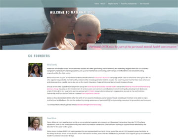 Maternal OCD website