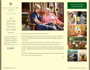 Queensland Care website
