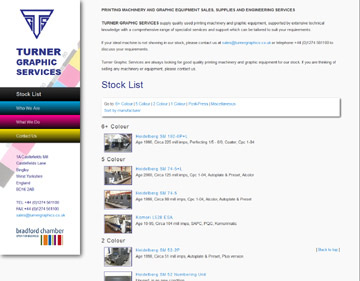Turner Graphics website
