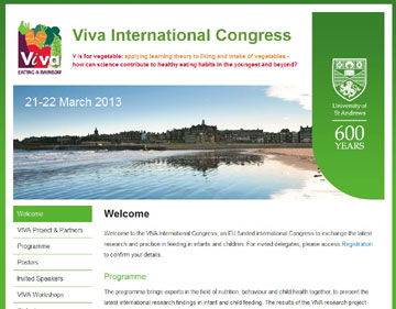 Viva Congress website