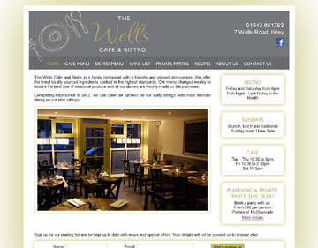 Wells Bistro website