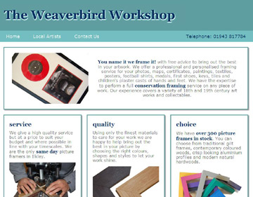 Weaverbird website