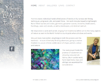 Yvonne Le Mare website
